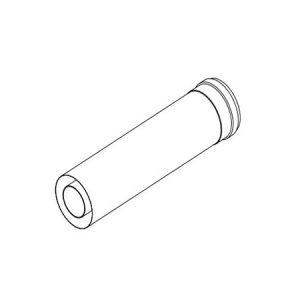 Коаксиальный удлинительный элемент• DN60