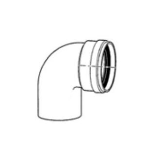 Угловое колено • DN80