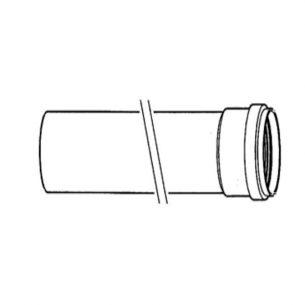 Удлинительный элемент • DN80 L=2000 мм