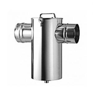 Компактный шумоглушитель дымовых газов • DN 150
