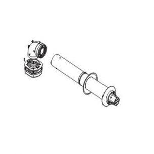 Коаксиальный горизонтальный комплект • DN60